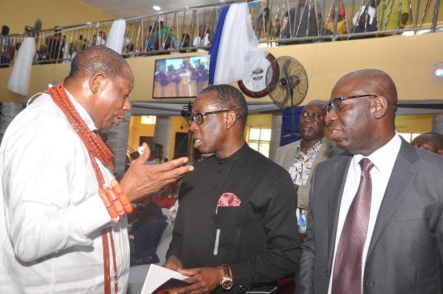 Obaseki, Okowa extol late Sen. Dafinone's virtues