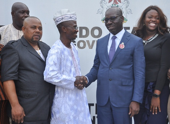 Obaseki assures master bakers of support to boost growth, job creation