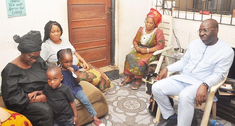 Obaseki condoles with family of late Osaretin Akemien