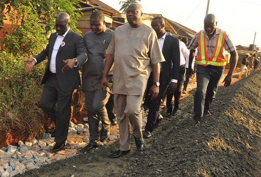 Road construction: Obaseki inspects Obakhavbaye, Irhirhi roads, others