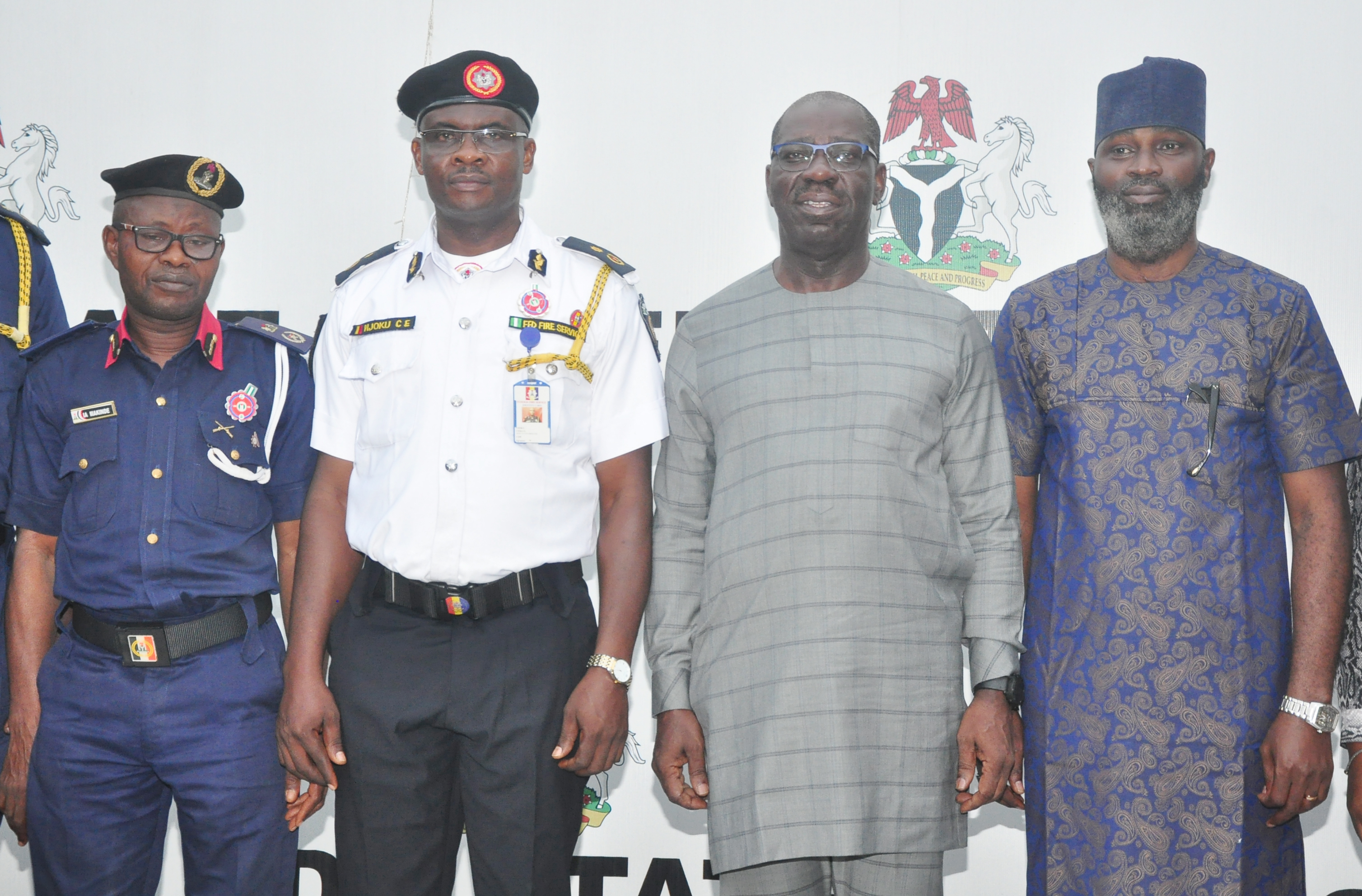 Security Architecture: Obaseki commits to strengthening fire service agency for efficient emergency response