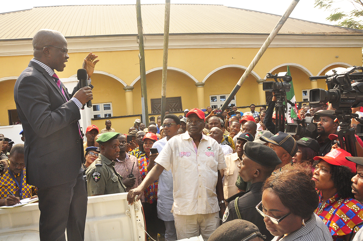 Obaseki allays workers' fears as Edo NLC threatens election boycott over N30,000 minimum wage