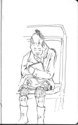 Dans le métro