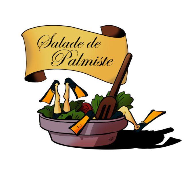 Salade de palmiste