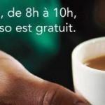 Le Lundi Matin, Starbucks vous paie le Café !