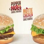 Le Pepper Noël et le Hotte Chicken de Quick
