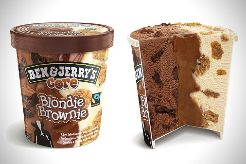 Ben and Jerry's Core Blondie Brownie