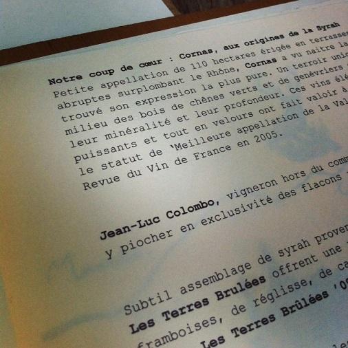 restaurant le pas sage paris bistrot carte des vins