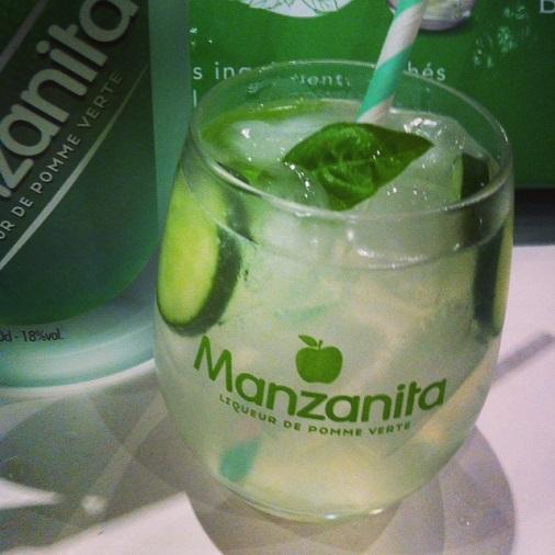 manzanista cocktail à la manzanita