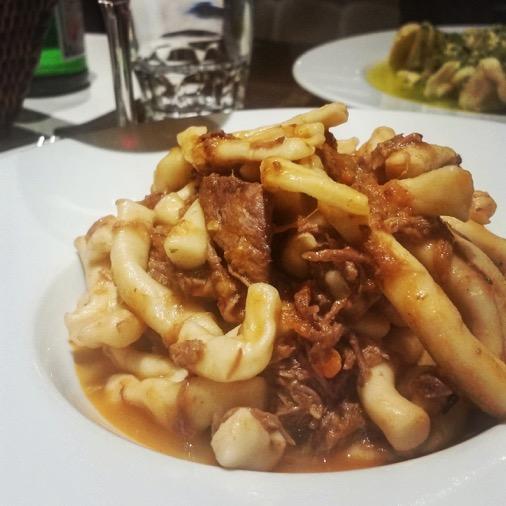 restaurant oliva italien traditionnel paris 08 strozzapreti au ragoût de sanglier