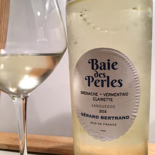 baie des perles gérard bertrand vin blanc