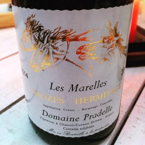 Les Marelles Crozes Hermitage Foire aux vins Franprix