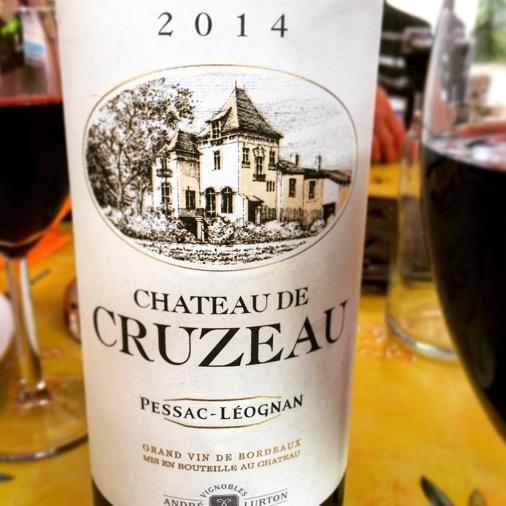 chateau de cruzeau 2016 Foire aux vins Franprix