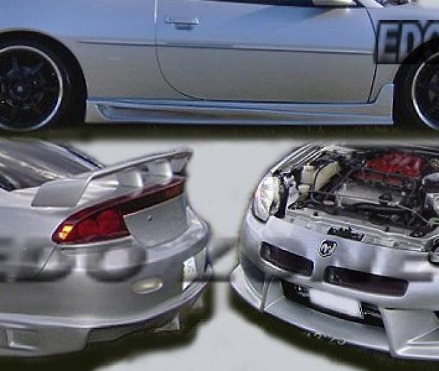 2001 2002 Chrysler Sebring Dodge Stratus 4 Pcs Full Body Kit