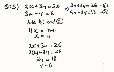 GCSE Maths Paper Three (Foundation) Practice Paper in the
