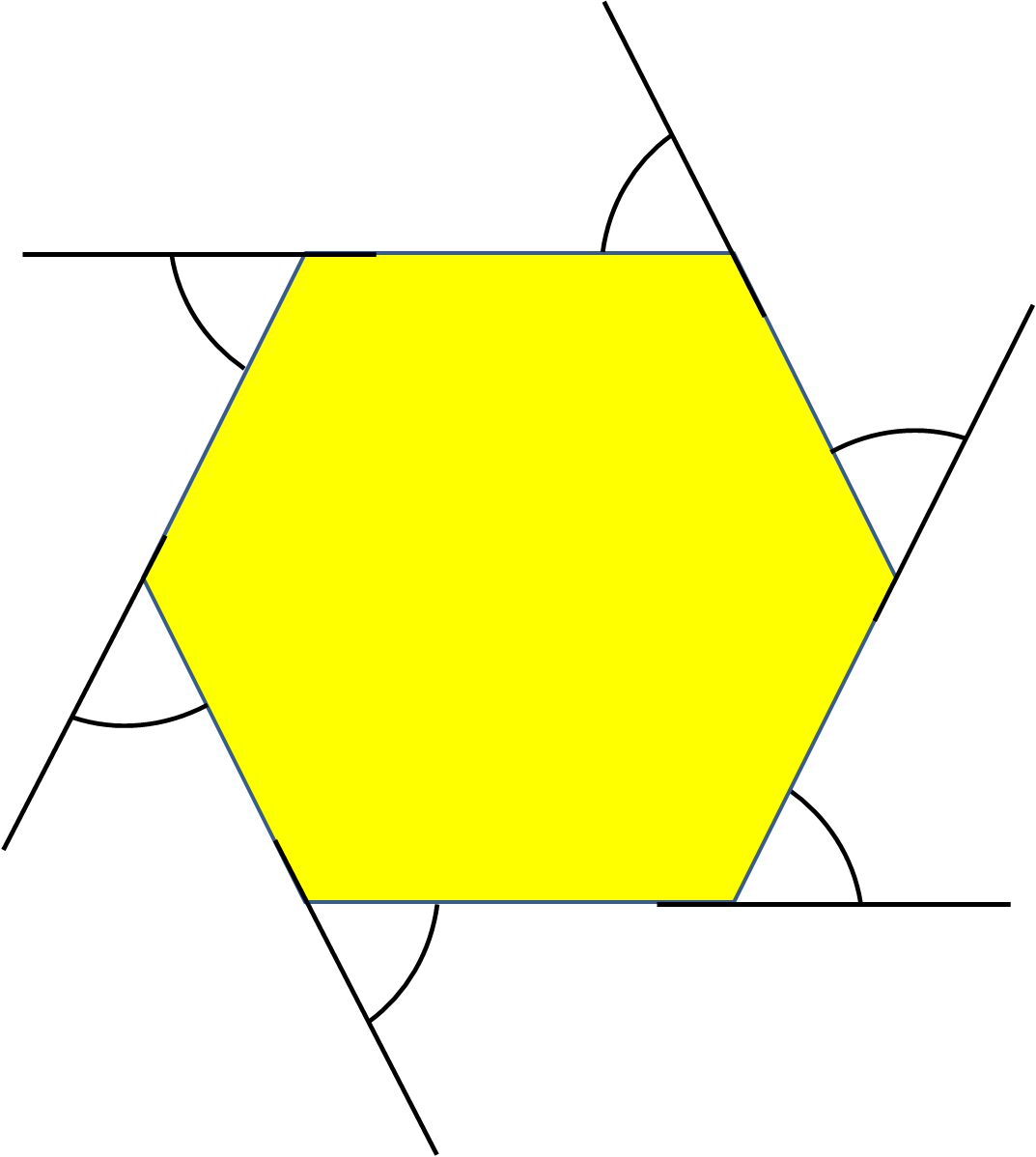 Exterior Angles Of Regular Polygons Worksheet