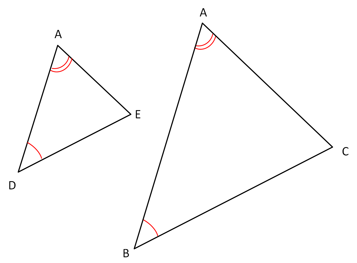 Identify Similar Triangles And Parallel Lines Worksheet