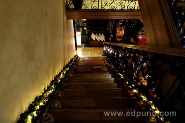 Staircase at Roxas President's Inn