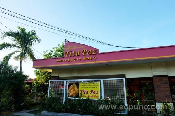 Tita Paz Restaurant in Molo, Iloilo