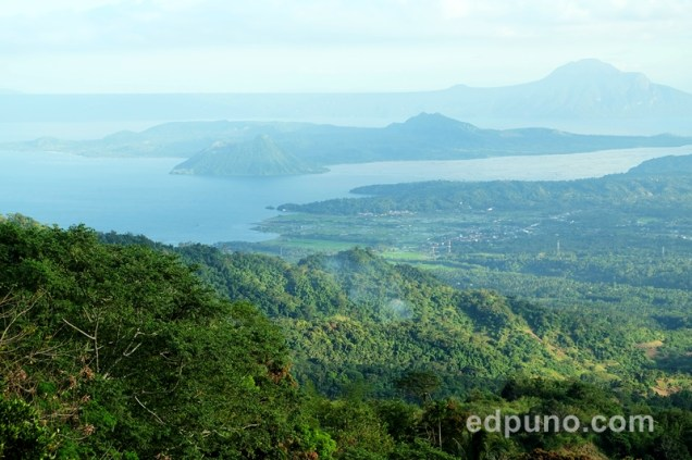 View of the taal Volcano