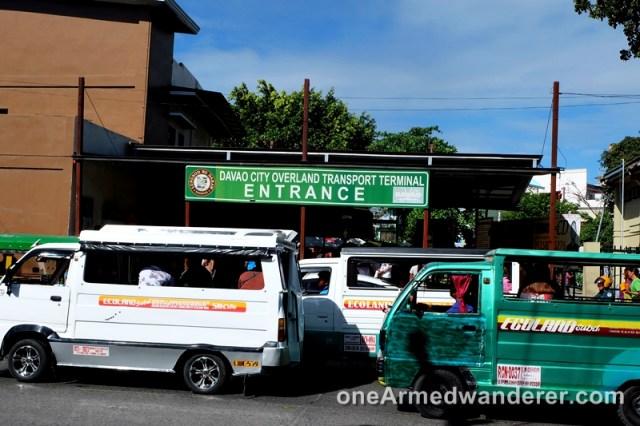 ecoland bus terminal in davao