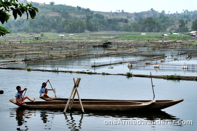 kids owong boats lake sebu