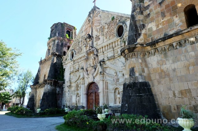 Miagao church in ililo philippines