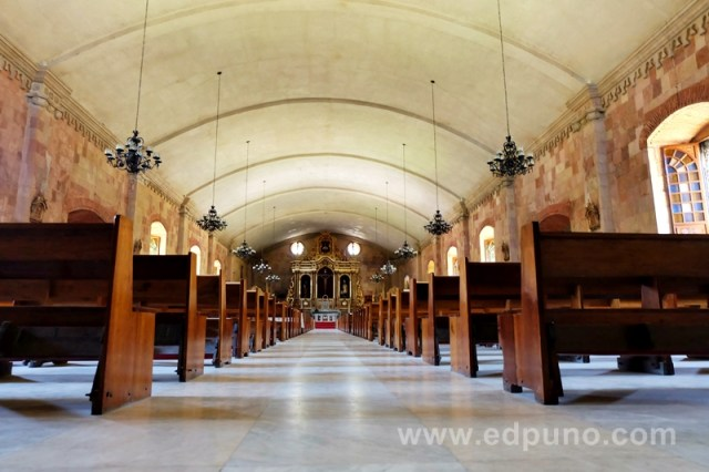 Philippine church interior iloilo