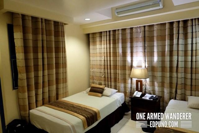 twin bedroom star garden tower hotel lucena city