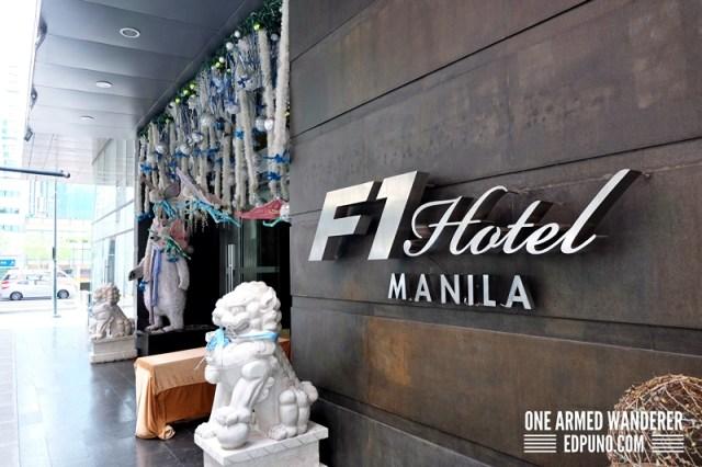 F1 Hotel Manila Facade