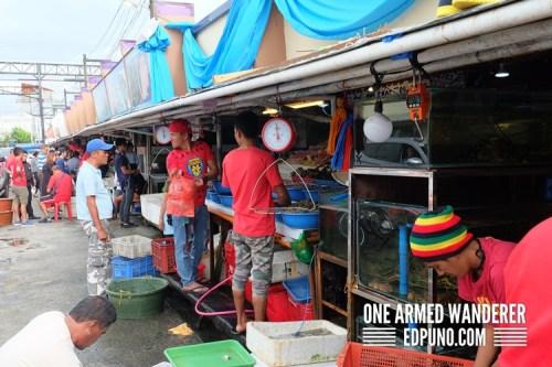 Market at Dampa Macapagal