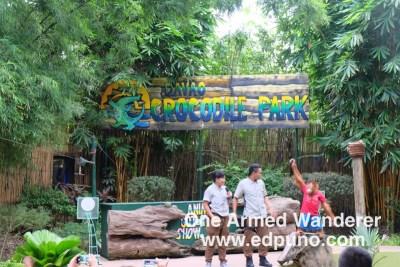 Davao Crocodile Park show