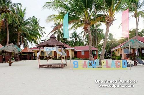 Beach Placid Bantayan Island Cebu Philippines