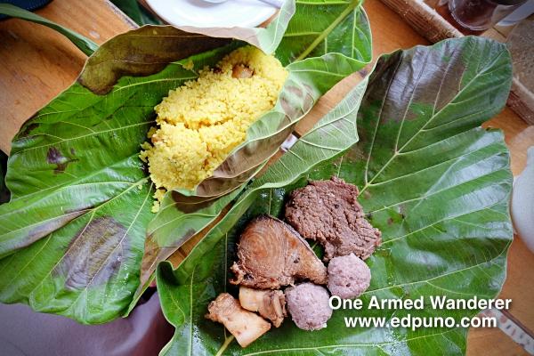 Ivatan lunch at Vunong