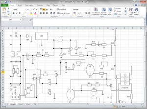 Create Circuit Diagram for Excel