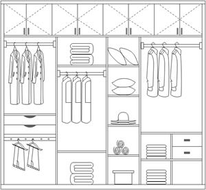 轻松快捷地设计衣柜