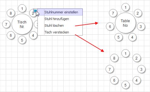 Sitzplan erstellen  wunderbare Sitzordnung Software