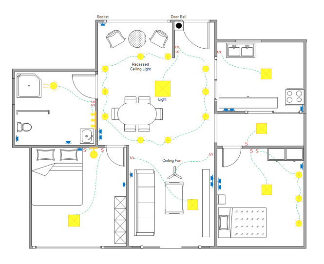 wiring a house for ethernet uk
