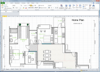 Create Floor Plan for Excel