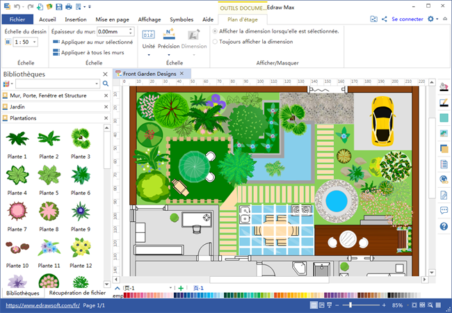 Comment Creer Un Plan De Jardin En Word
