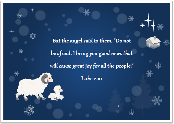 8 Christmas Card With Bible Verses Free Download