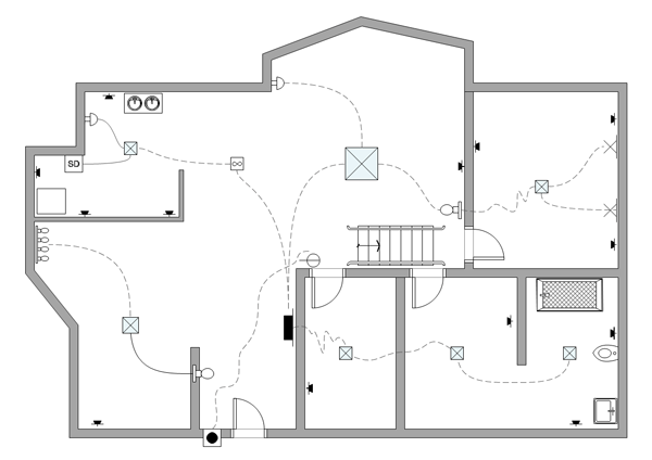 residential wiring diagram examples