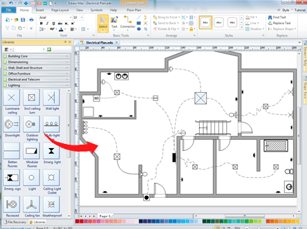 wiring plan software building wiring diagram building electrical wiring diagram at crackthecode.co