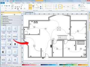Home Wiring Plan Software  Making Wiring Plans Easily
