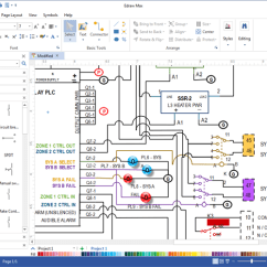 Free Wiring Diagram Software Sarcomere To Label Program Data Draw Diagrams With Built In Symbols Boat
