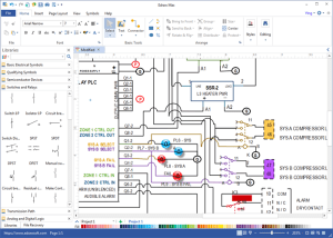 Wiring Diagram Software  Draw Wiring Diagrams with Built