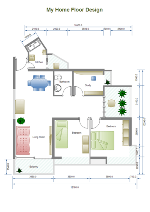 Building Plan Examples  Examples of Home Plan, Floor Plan