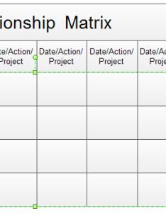 Create relationship matrix also rh edrawsoft