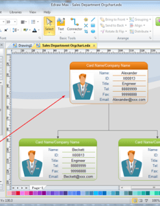 Draw an organization chart also practical skills for making professional organizational rh edrawsoft