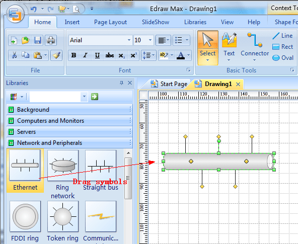 software to create network diagram east coast swing steps a basic perfect design drag symbols